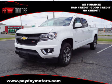 2015 Chevrolet Colorado for sale at Payday Motors in Wichita And Topeka KS