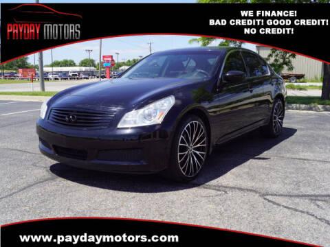 2009 Infiniti G37 Sedan for sale at Payday Motors in Wichita And Topeka KS