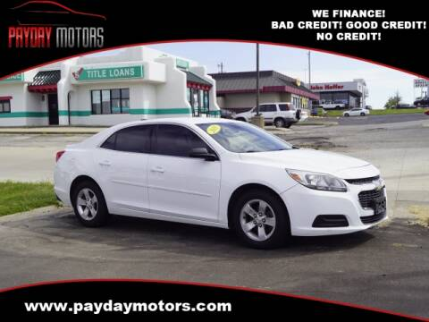 2015 Chevrolet Malibu for sale at Payday Motors in Wichita And Topeka KS