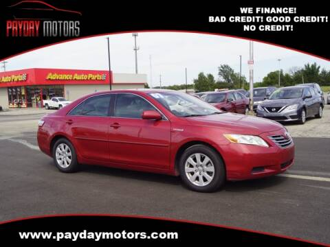 2007 Toyota Camry Hybrid for sale at Payday Motors in Wichita And Topeka KS