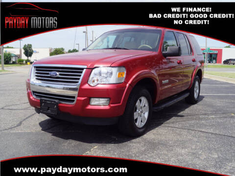 2007 Ford Explorer for sale at Payday Motors in Wichita And Topeka KS