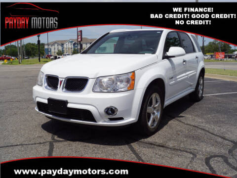 2008 Pontiac Torrent for sale at Payday Motors in Wichita And Topeka KS