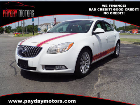 2011 Buick Regal for sale at Payday Motors in Wichita And Topeka KS