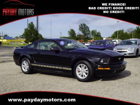 2005 Ford Mustang for sale at Payday Motors in Wichita And Topeka KS
