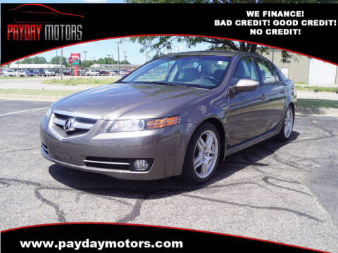 2008 Acura TL for sale at Payday Motors in Wichita And Topeka KS