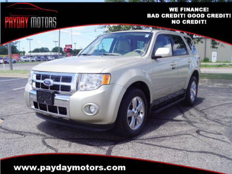 2011 Ford Escape for sale at Payday Motors in Wichita And Topeka KS