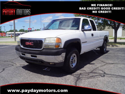 2001 GMC Sierra 2500HD for sale at Payday Motors in Wichita And Topeka KS