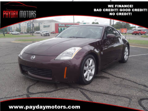2003 Nissan 350Z for sale at Payday Motors in Wichita And Topeka KS