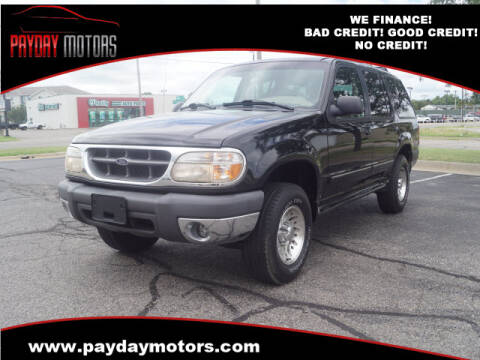1999 Ford Explorer for sale at Payday Motors in Wichita And Topeka KS