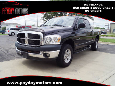 2008 Dodge Ram Pickup 1500 for sale at Payday Motors in Wichita And Topeka KS