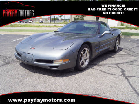 2004 Chevrolet Corvette for sale at Payday Motors in Wichita And Topeka KS