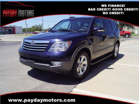 2009 Kia Borrego for sale at Payday Motors in Wichita And Topeka KS