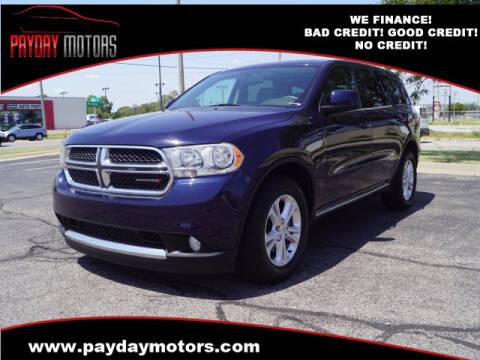 2013 Dodge Durango for sale at Payday Motors in Wichita And Topeka KS
