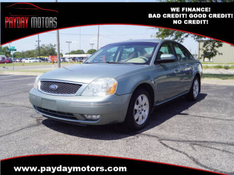 2006 Ford Five Hundred for sale at Payday Motors in Wichita And Topeka KS