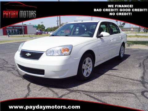 2007 Chevrolet Malibu for sale at Payday Motors in Wichita And Topeka KS