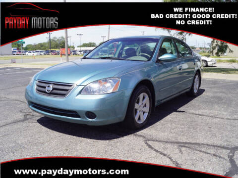2002 Nissan Altima for sale at Payday Motors in Wichita And Topeka KS