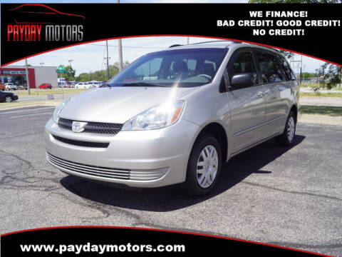 2005 Toyota Sienna for sale at Payday Motors in Wichita And Topeka KS