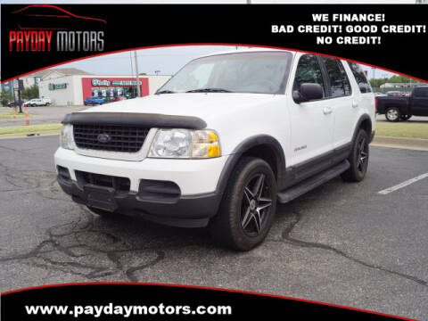 2002 Ford Explorer for sale at Payday Motors in Wichita And Topeka KS