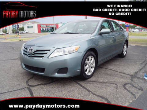 2011 Toyota Camry for sale at Payday Motors in Wichita And Topeka KS