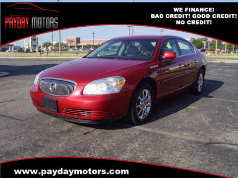 2008 Buick Lucerne for sale at Payday Motors in Wichita And Topeka KS