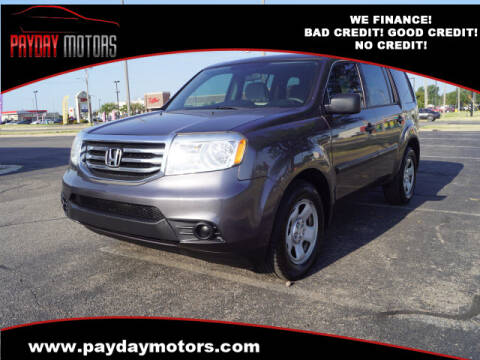 2015 Honda Pilot for sale at Payday Motors in Wichita And Topeka KS