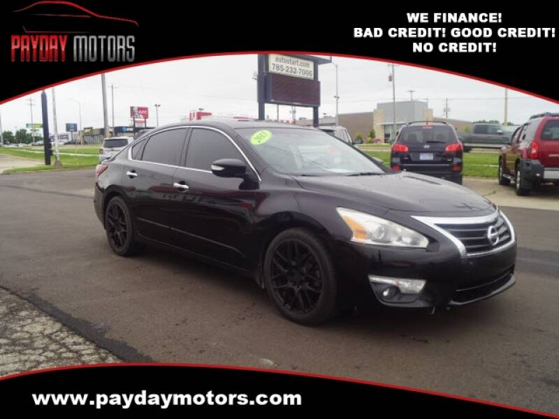 2013 Nissan Altima for sale at Payday Motors in Wichita And Topeka KS
