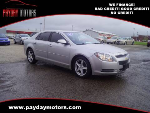 2010 Chevrolet Malibu for sale at Payday Motors in Wichita And Topeka KS