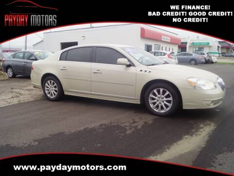 2010 Buick Lucerne for sale at Payday Motors in Wichita And Topeka KS