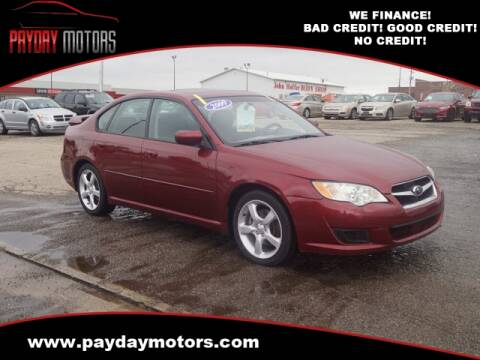 2009 Subaru Legacy for sale at Payday Motors in Wichita And Topeka KS