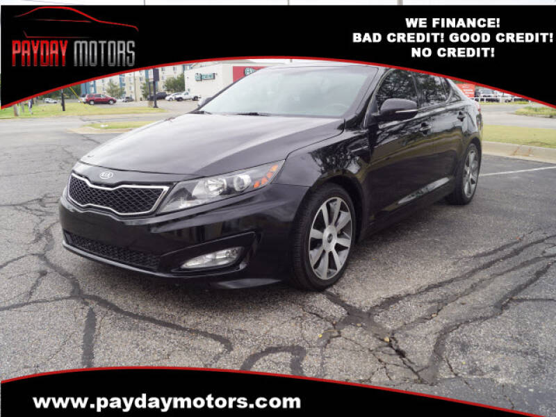 2012 Kia Optima for sale at Payday Motors in Wichita And Topeka KS