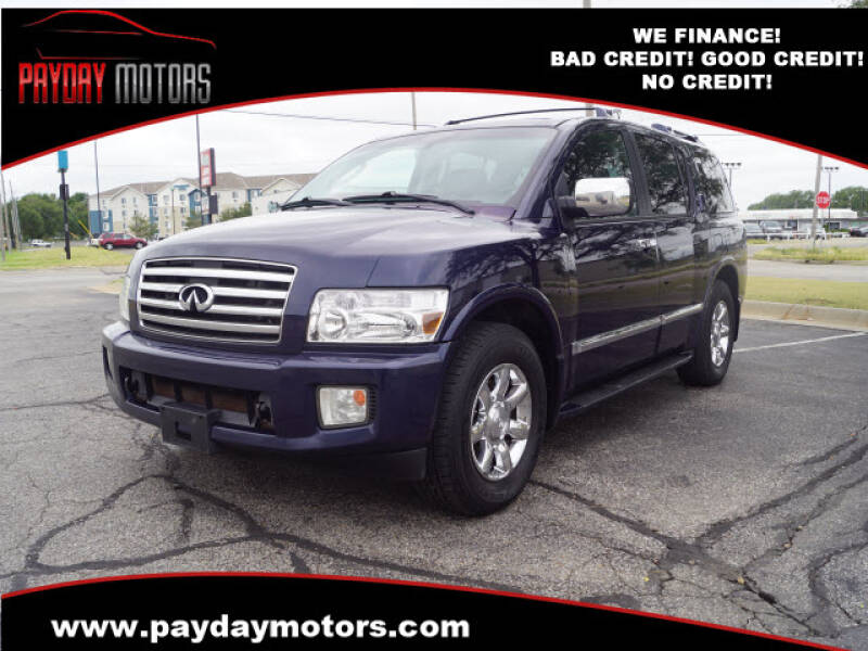 2007 Infiniti QX56 for sale at Payday Motors in Wichita And Topeka KS
