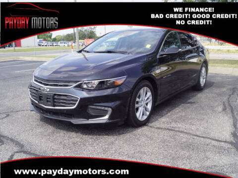 2016 Chevrolet Malibu for sale at Payday Motors in Wichita And Topeka KS