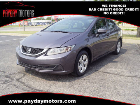 2014 Honda Civic for sale at Payday Motors in Wichita And Topeka KS