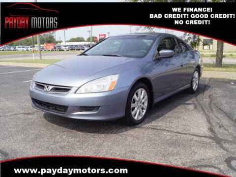 2006 Honda Accord for sale at Payday Motors in Wichita And Topeka KS