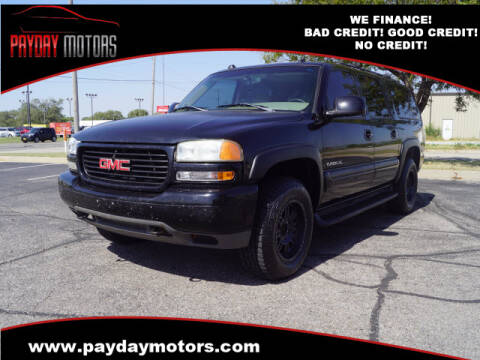 2004 GMC Yukon XL for sale at Payday Motors in Wichita And Topeka KS
