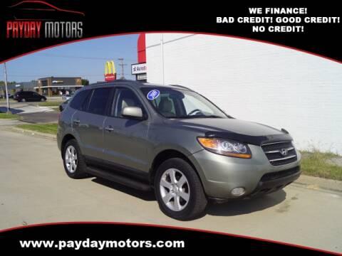2009 Hyundai Santa Fe for sale at Payday Motors in Wichita And Topeka KS