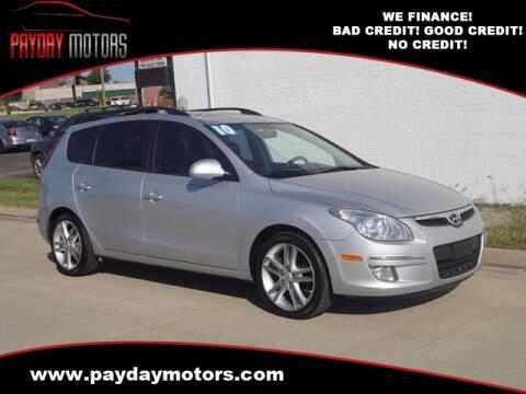 2010 Hyundai Elantra Touring for sale at Payday Motors in Wichita And Topeka KS