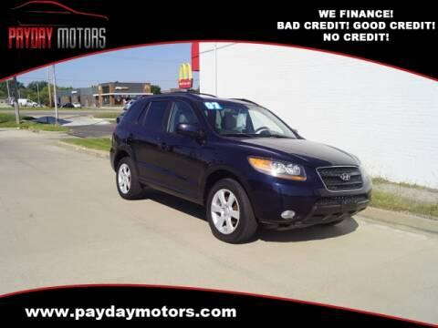 2007 Hyundai Santa Fe for sale at Payday Motors in Wichita And Topeka KS