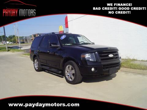 2009 Ford Expedition for sale at Payday Motors in Wichita And Topeka KS