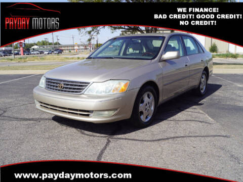 2004 Toyota Avalon for sale at Payday Motors in Wichita And Topeka KS