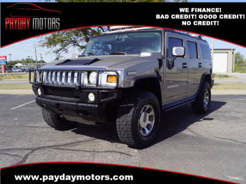 2003 HUMMER H2 for sale at Payday Motors in Wichita And Topeka KS