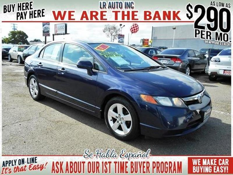 2008 Honda Civic EX 4dr Sedan 5A   Santa Ana CA