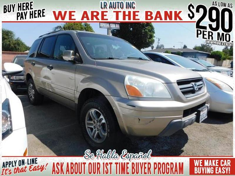 2005 Honda Pilot EX L 4dr 4WD SUV Leather and Entertainment Syste