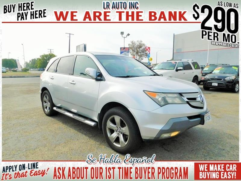 2008 Acura MDX SH AWD Sport RES and Entertainment Package