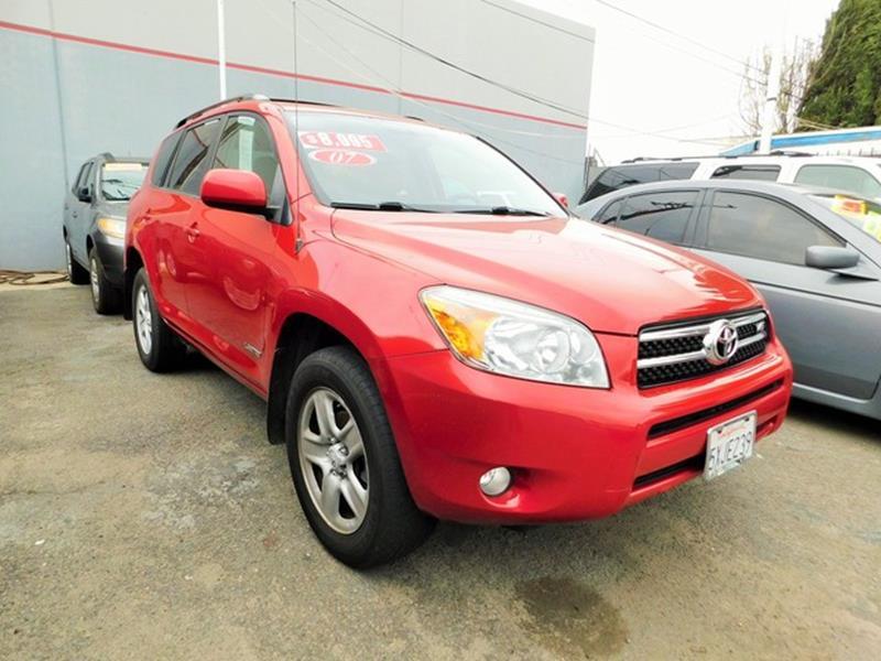 2007 Toyota RAV4 Limited 4WD V6
