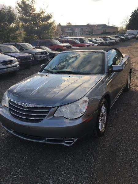 2009 Chrysler Sebring for sale at PREOWNED CAR STORE in Bunker Hill WV