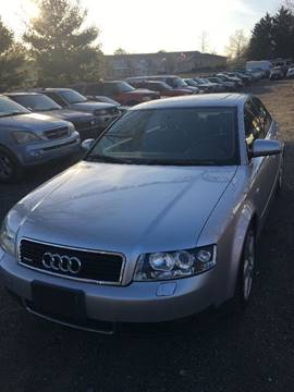 2003 Audi A4 for sale in Bunker Hill, WV