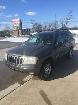 2003 Jeep Grand Cherokee for sale at PREOWNED CAR STORE in Bunker Hill WV