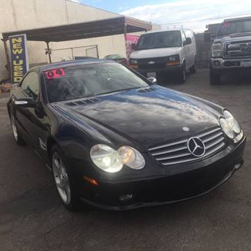 2004 Mercedes-Benz SL-Class for sale at Vision Hankook Motors in Garden Grove CA