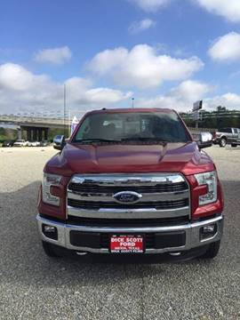 2016 Ford F-150 for sale in Mexia, TX